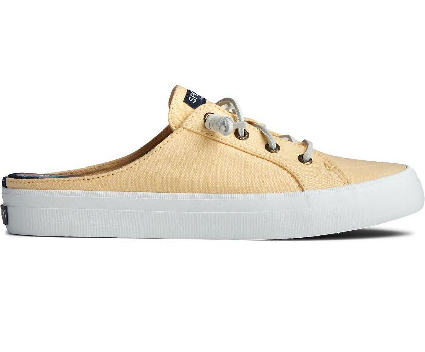 Crest Vibe Chambray Mule Sneaker, Yellow, dynamic
