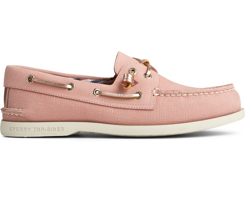 Authentic Original Vida PLUSHWAVE Boat Shoe, Blush, dynamic