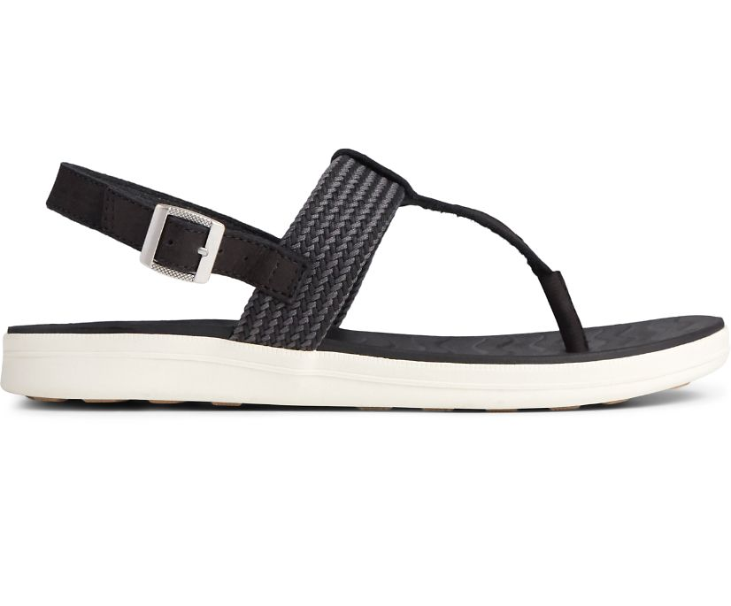 Adriatic Sling Sandal, Black, dynamic