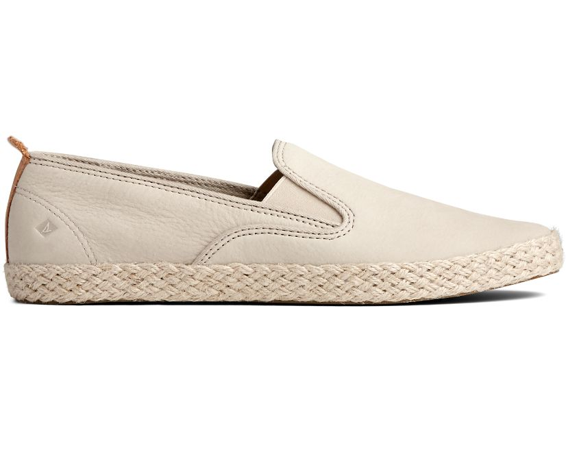 Sailor Twin Gore Jute Sneaker, Ivory, dynamic