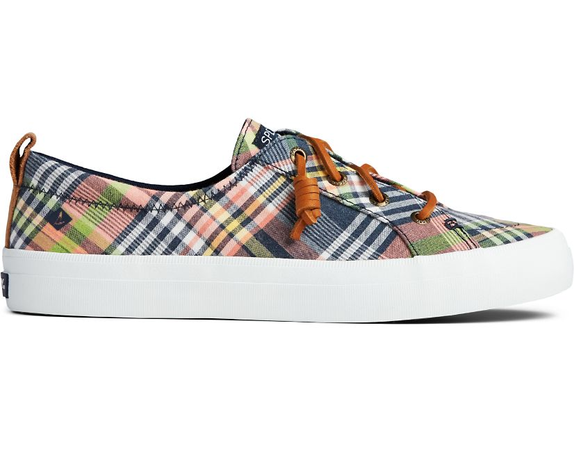 Crest Vibe Washed Plaid Sneaker, Kick Back Plaid, dynamic