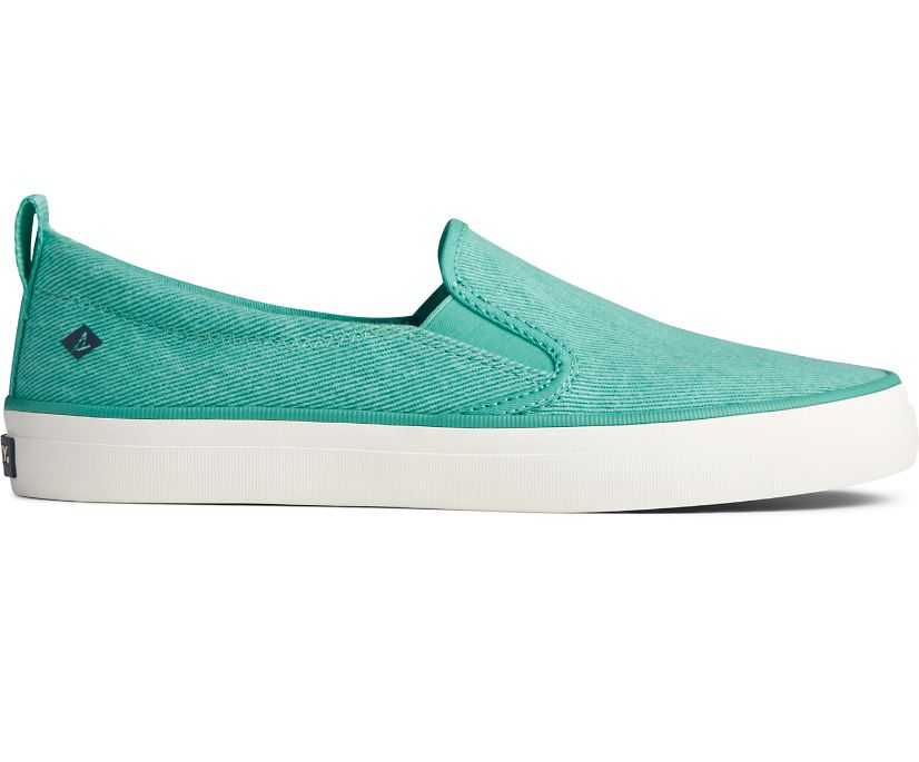 Crest Twin Gore Washed Twill Sneaker, Bright Mint, dynamic
