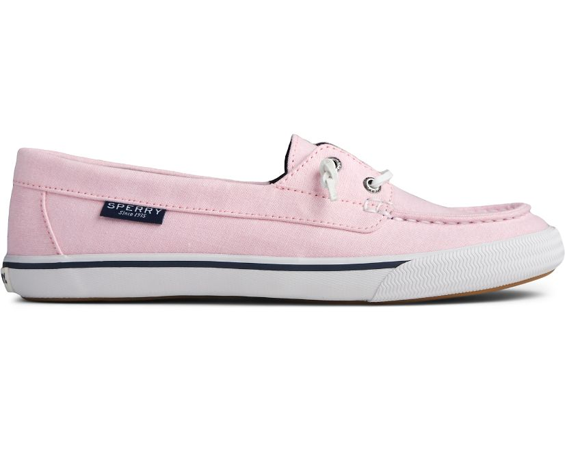 Lounge Away Chambray Sneaker, Pink, dynamic