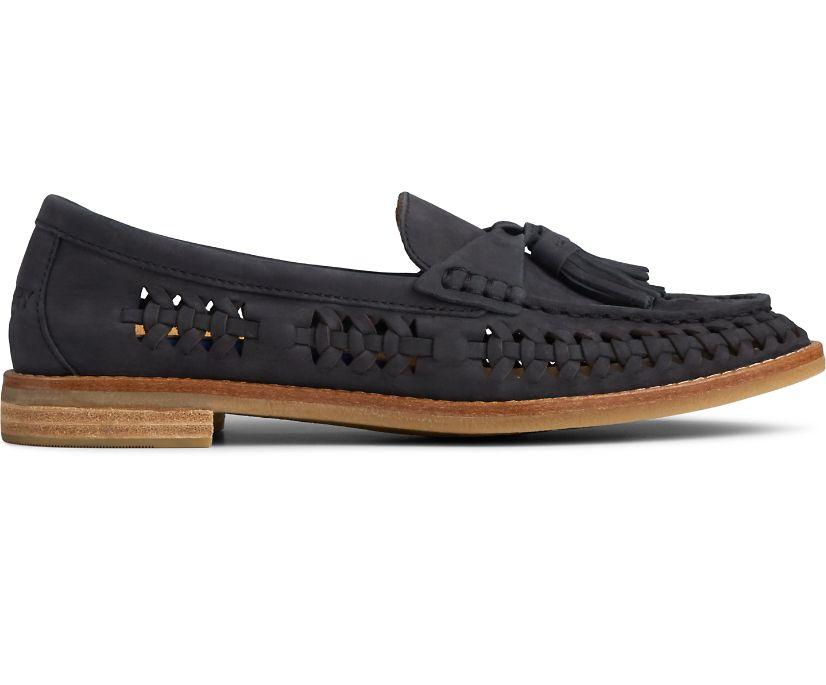 Seaport PLUSHWAVE Woven Loafer, Black, dynamic