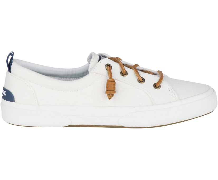 Pier Wave Canvas Sneaker, White, dynamic