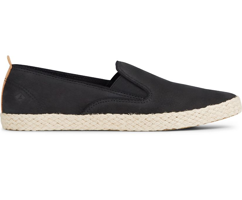 Sailor Twin Gore Jute Sneaker, Black, dynamic