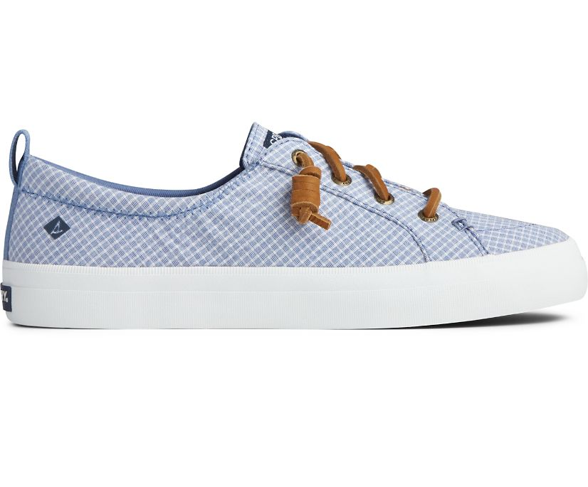 Crest Vibe Mini Check Sneaker, Blue/White, dynamic