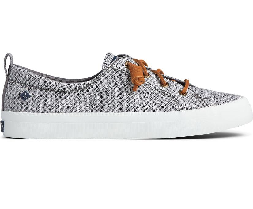 Crest Vibe Mini Check Sneaker, Grey/White, dynamic