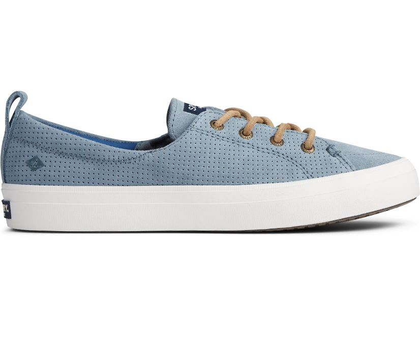 Crest Vibe PLUSHWAVE Pin Perforated Sneaker, Lead, dynamic