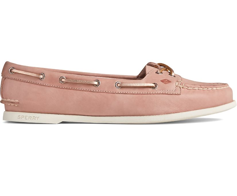 Authentic Original Skimmer Starlight Boat Shoe, Blush, dynamic