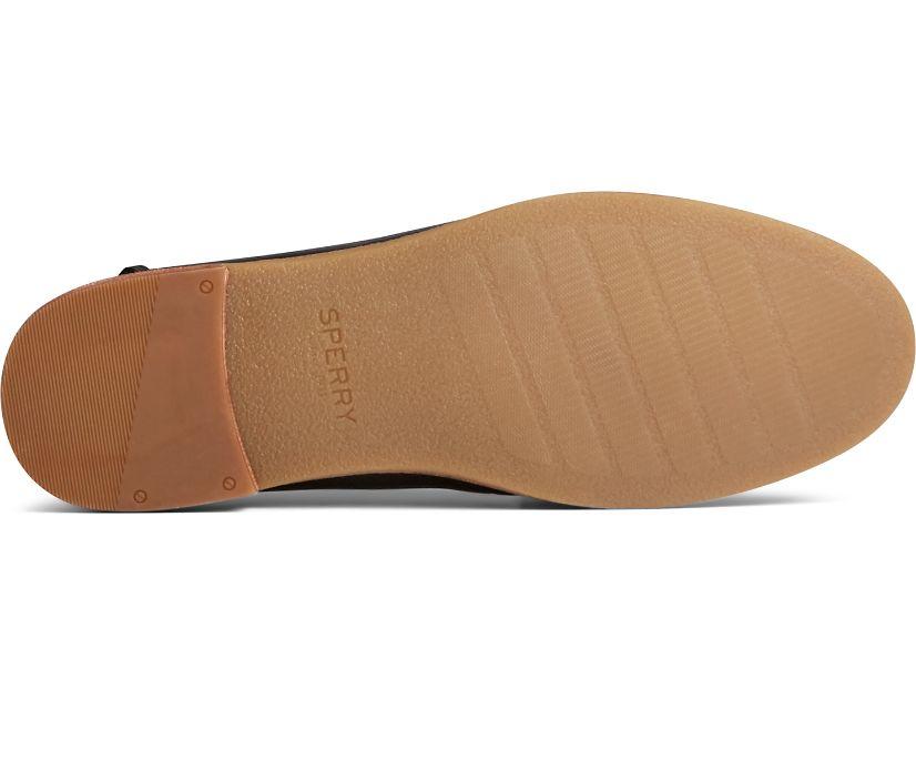 Seaport Penny PLUSHWAVE Shackle Leather Loafer, Black, dynamic