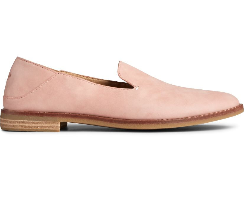 Seaport Levy Starlight Leather Loafer, Blush, dynamic
