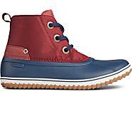 Schooner 3-Eye Nylon Boot, Cordovan/Navy, dynamic