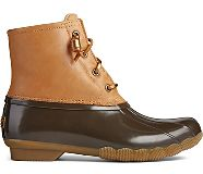 Saltwater Starlight Leather Duck Boot, Tan/Brown, dynamic