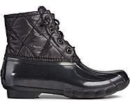 Saltwater Nylon Quilted Duck Boot, Black, dynamic