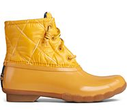 Saltwater Nylon Quilted Duck Boot, Mustard, dynamic