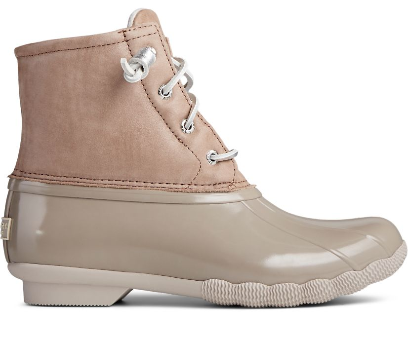 Saltwater Starlight Leather Duck Boot, Dove, dynamic