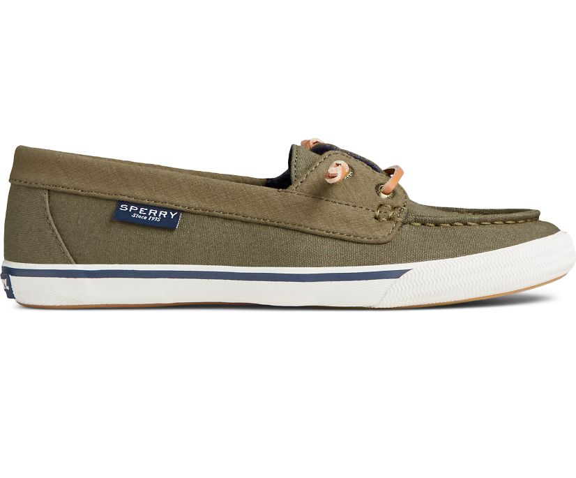 Lounge Away Sneaker, Olive, dynamic