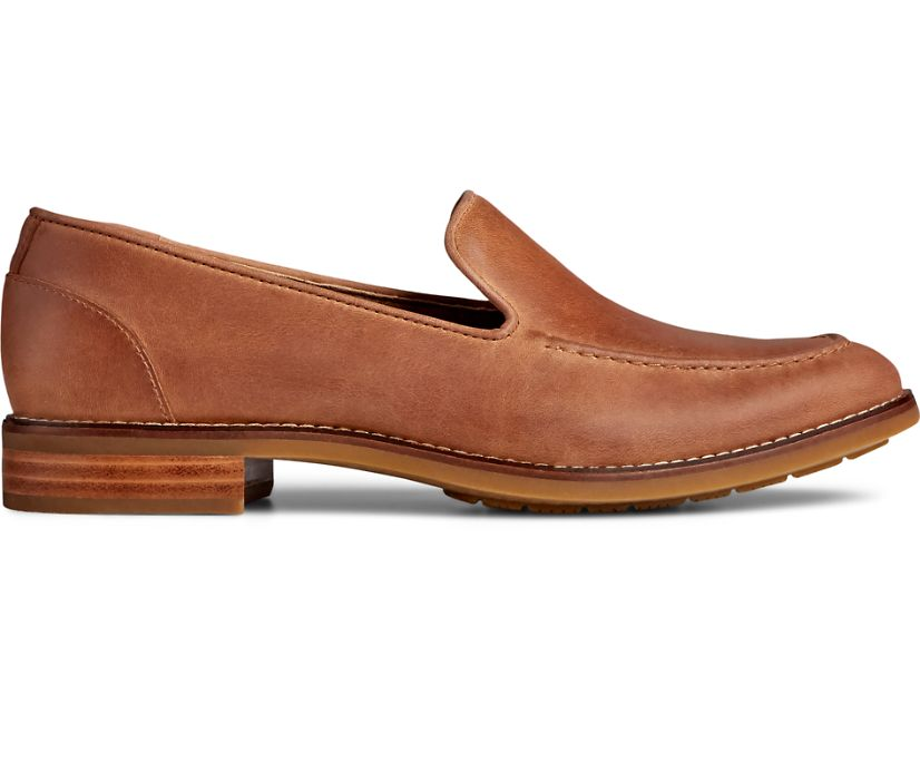 Fairpoint Leather Loafer, Tan, dynamic