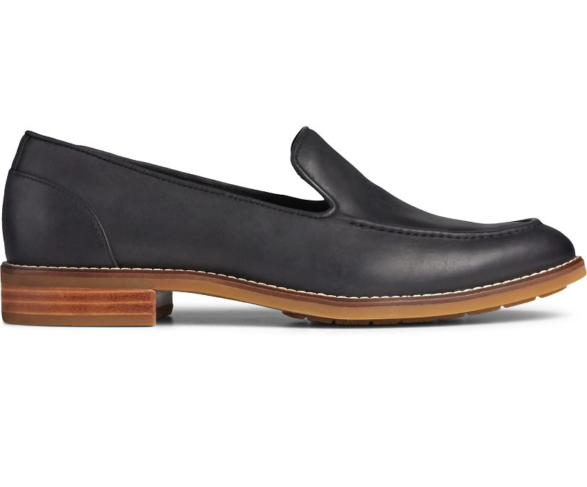 Fairpoint Leather Loafer, Black, dynamic