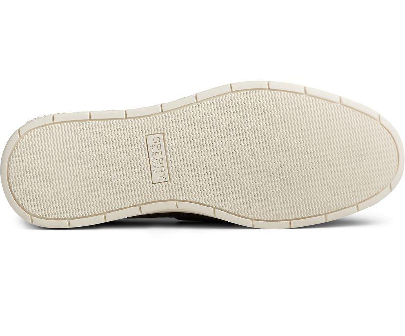 Authentic Original Platform Leather Boat Shoe, Navy, dynamic