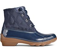 Syren Gulf Quilted Nylon Boot, Navy, dynamic
