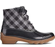 Syren Gulf Buffalo Check Duck Boot, Black Multi, dynamic
