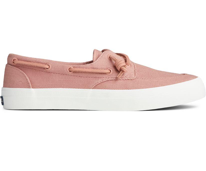 Crest Boat Seasonal Twill Sneaker, Dusty Rose, dynamic