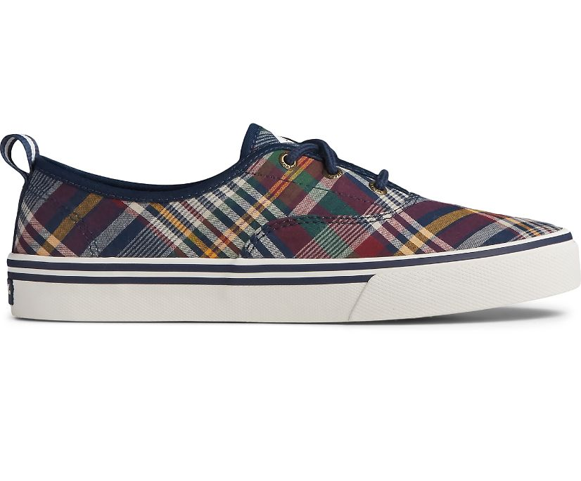 Crest CVO Plaid Textile Sneaker, Plaid, dynamic