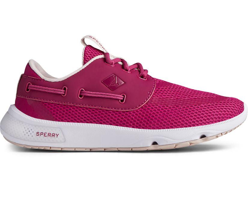 7 Seas 3-Eye Sneaker, Magenta, dynamic