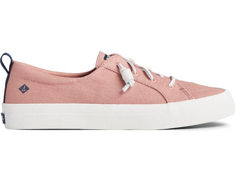 Crest Vibe Seasonal Twill Sneaker, Dusty Rose, dynamic