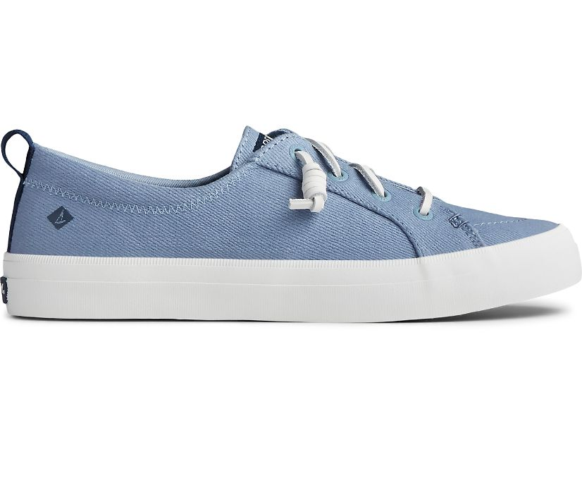 Crest Vibe Seasonal Twill Sneaker, Blue Sky, dynamic