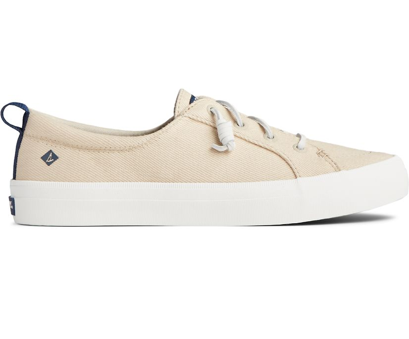 Crest Vibe Seasonal Twill Sneaker, Natural, dynamic