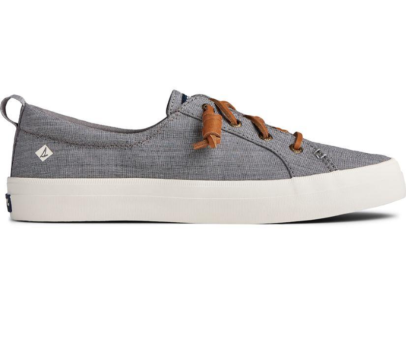 Crest Vibe Two Tone Chambray Sneaker, Grey, dynamic