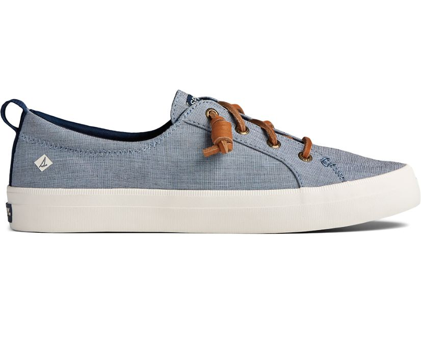 Crest Vibe Two Tone Chambray Sneaker, Navy, dynamic