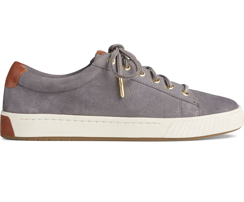 Anchor PLUSHWAVE Suede Sneaker, Grey, dynamic