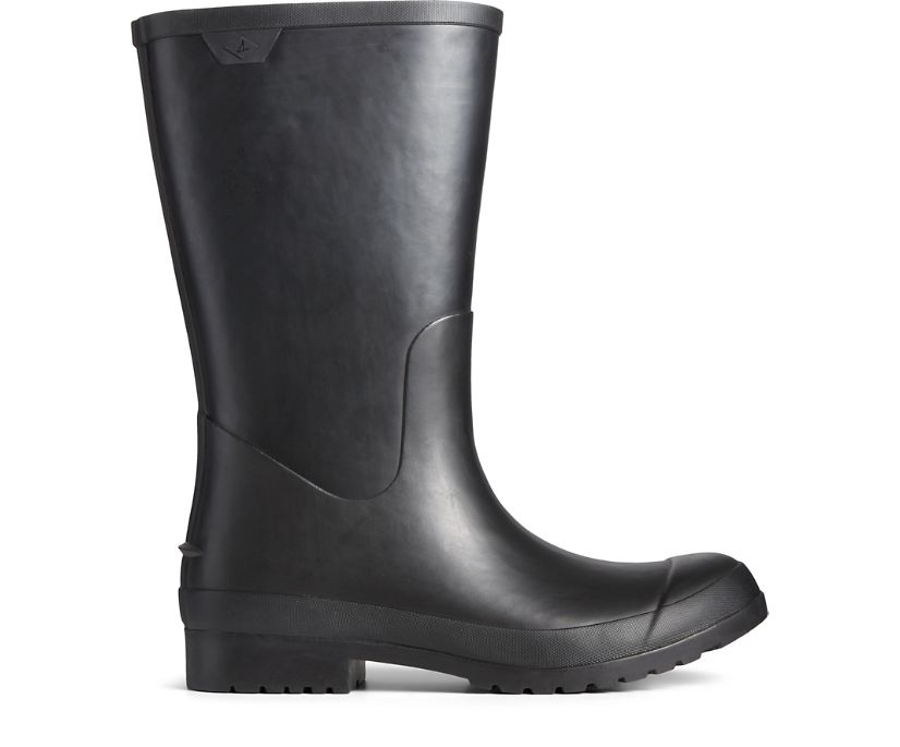 Walker Mid Rain Boot, Black, dynamic