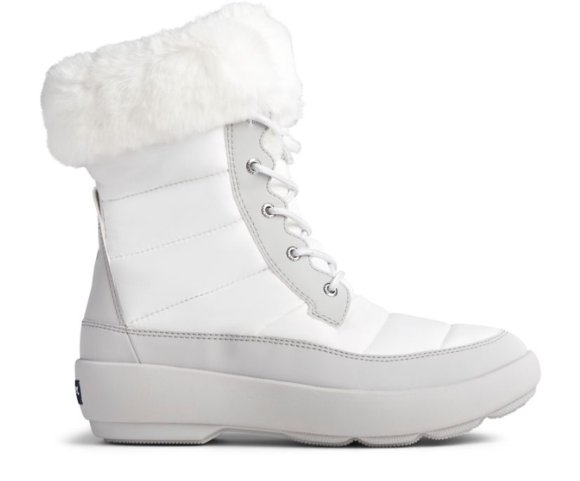 Bearing PLUSHWAVE Nylon Boot, Off White/Grey, dynamic