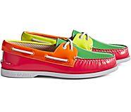 Cloud Authentic Original 2-Eye Boat Shoe, Neon Multi, dynamic