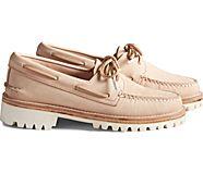 Cloud Authentic Original 2-Eye Boat Shoe, Veg Natural, dynamic