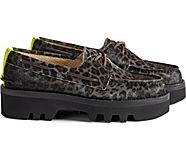 Cloud Authentic Original 2-Eye Lug Boat Shoe, Jaguar Black, dynamic