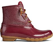 Saltwater Sparkle Duck Boot, Cordovan, dynamic
