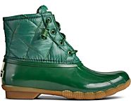 Saltwater Nylon Quilted Duck Boot, Green, dynamic