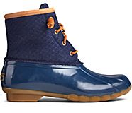 Saltwater Wool Embossed Duck Boot w/ Thinsulate™, Navy, dynamic