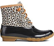 Saltwater Animal Print Duck Boot, Multi, dynamic