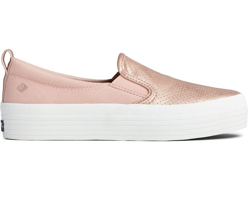 Crest Vibe Platform Slip On Sneaker, Blush, dynamic