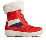 Bearing PLUSHWAVE Nylon Boot, Red, dynamic