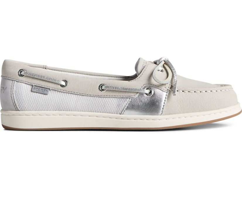 Coastfish 1-Eye Boat Shoe, Vapor/Silver, dynamic