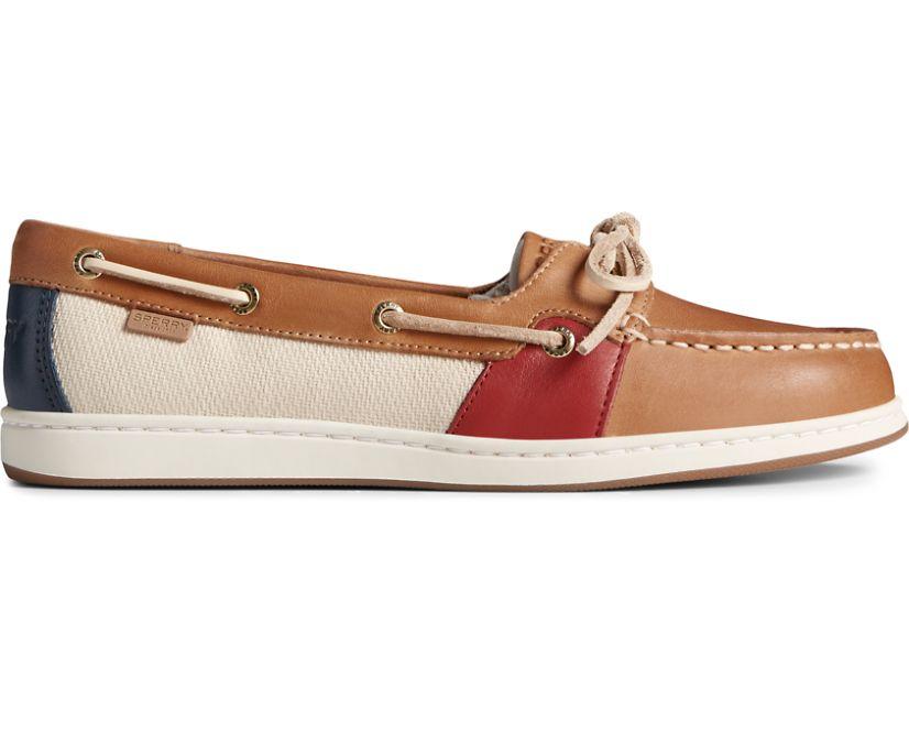 Coastfish 1-Eye Boat Shoe, Sahara, dynamic