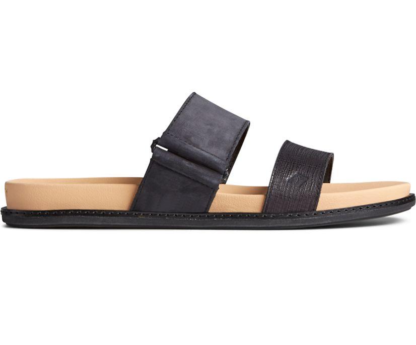 Waveside PLUSHWAVE Slide Sandal, Black, dynamic